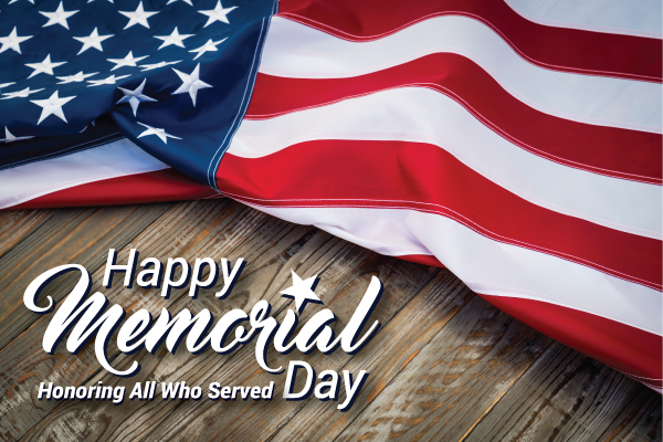 Happy Memorial Day! - Greystone Health Care Center
