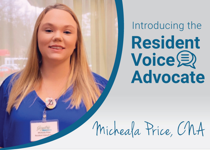 micheala resident voice advocate